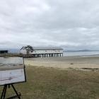 Painting-of-Sugar-Wharf-Port-Douglas