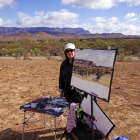 Painting-in-front-of-the-Arkaba-Range