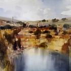 Painting-of-copper-mine-Burra