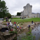 Group painting at Ross Castle