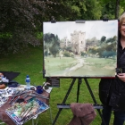 Me and the demo at Blarney Castle