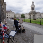 Painting at Trinity College