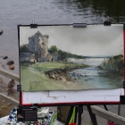 Painting of Ross Castle