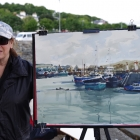 Painting of Honth Harbour