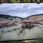 Painting of Sally Gap
