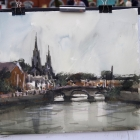 Painting of the River Lee Cork