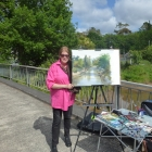 Painting the Puhoi River (1)
