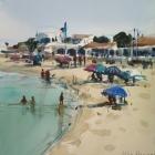 Demonstraion painting (2) From Armona Island