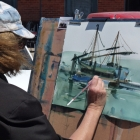 Small study of traditional boat SOLD