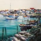 Studio painting of the Algarve SOLD