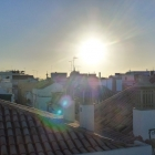 Sunset from studio rooftop