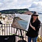 Painting of the Sidmouth foreshore