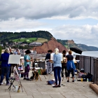 Some of the Sidmouth group painting
