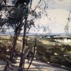 Australian Landscape WC 74x54cm