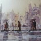 Wet in Venice WC (28 x 22cm)